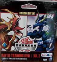 Bakugan Gundalian Invaders Battle Training Dvd Volume 2 - Brand