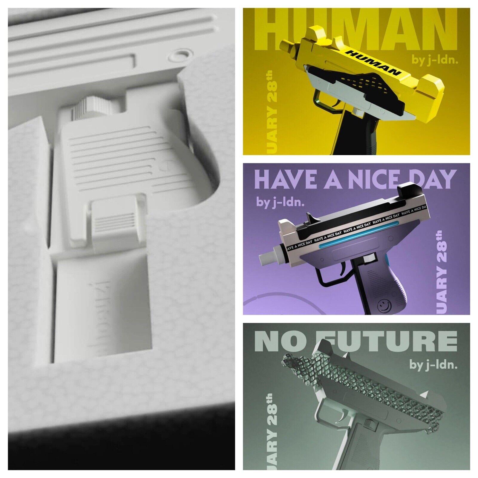 schuheUzi Collection - No Future   Have A Nice day   Human