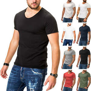 Jack-amp-Jones-T-Shirt-Hommes-Basic-Shirt-manches-courtes-Shirt-Casual-Streetwear