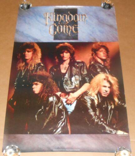 Kingdom Come Poster Original 1988 Promo 36x24