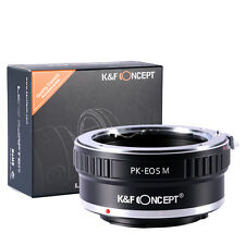 K&F Concept adapter for Pentax K mount lens to Canon EOS M camera M1 M2 M3 M5
