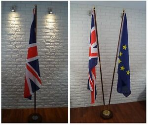 Ceremonial Flag Pole With Br