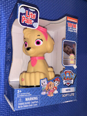 Night Light with auto shutoff Paw Patrol Skye Lamp