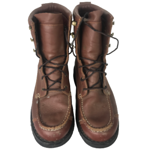 Cabelas GoreTex Thinsulate Lined Brown Leather Lace Up Boots Men's 10.5D