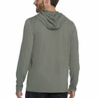 Gerry Men/'s Long Sleeve Hooded Sun Tee Variety