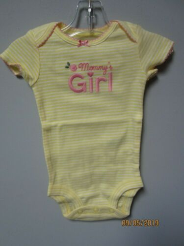 Simple Joys by Carter/'s Baby Girls 6-Pack Short Sleeve Bodysuits Size NB