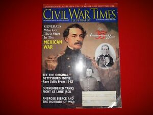 APRIL 1996 Civil WAR Times GENERALS WHO GOT THEIR START IN THE MEXICAN WAR
