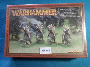 Warhammer-Dark-Elves-Cold-One-Knights-Box-Sealed-Metal-WF742