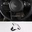 FOR Kia Forte Cerato 2019-2020 ABS Carbon fiber Steering Wheel Decorative Cover