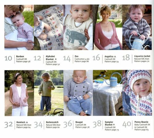 16 Designs include Pregnancy Rowan Classic Mother /& Baby Knitting Pattern Book