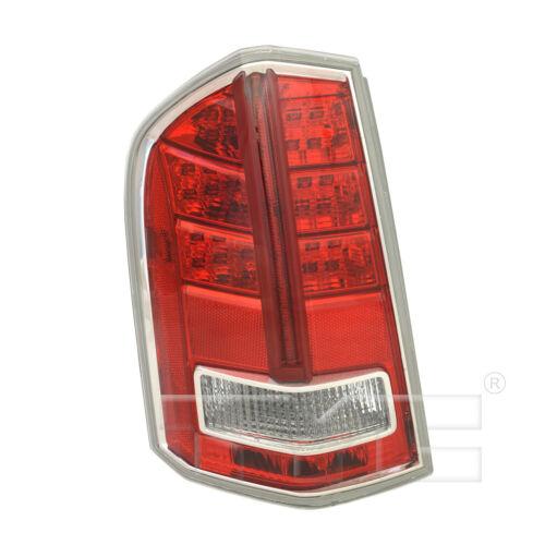 Tail Light Rear Lamp Left Driver for 13-14 Chrysler 300 TYPE 2 Red