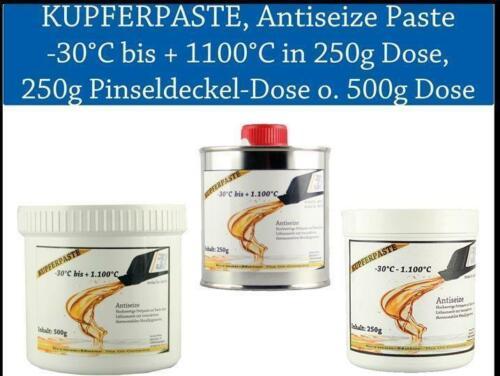 Copper Paste Copper Grease Antiseize Brake Paste Copper Paste in 250g Or