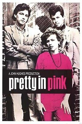 Movie Posters # 29 - 8 x 10 Tee Shirt Iron On Transfer Pretty in Pink