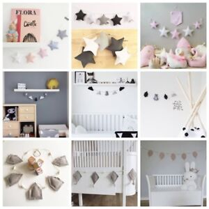 nordic style handmade kids baby room tent ornament wall decoration rh ebay com scandi style baby clothes uk scandi style baby gym