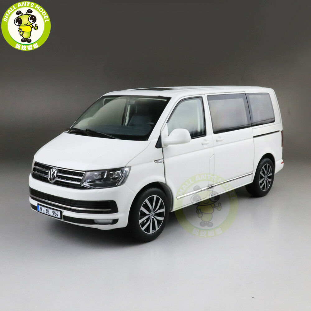 consegna gratuita 1 18 NZG VW Volkswagen Multivan T6 Diecast Metal auto auto auto modello giocattoli bambini gift bianca  saldi