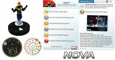 Preciso Nova Ff001 Galactic Guardians Annihilators Veloce Forze Marvel Heroclix