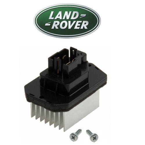 For Land Rover Range Rover Sport LR3 LR4 HVAC Blower Motor Resistor Genuine