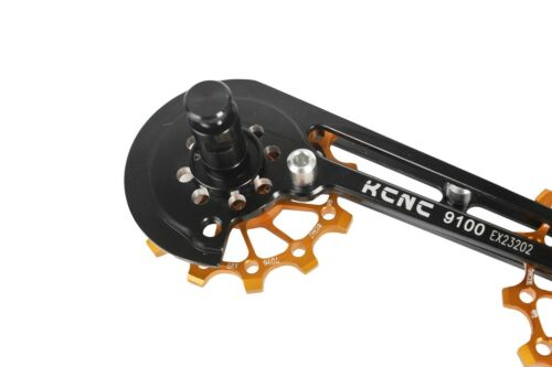 KCNC Road Cycling Bike Oversized Pulley Wheel Cage for Shimano r9100//r8000 Gold