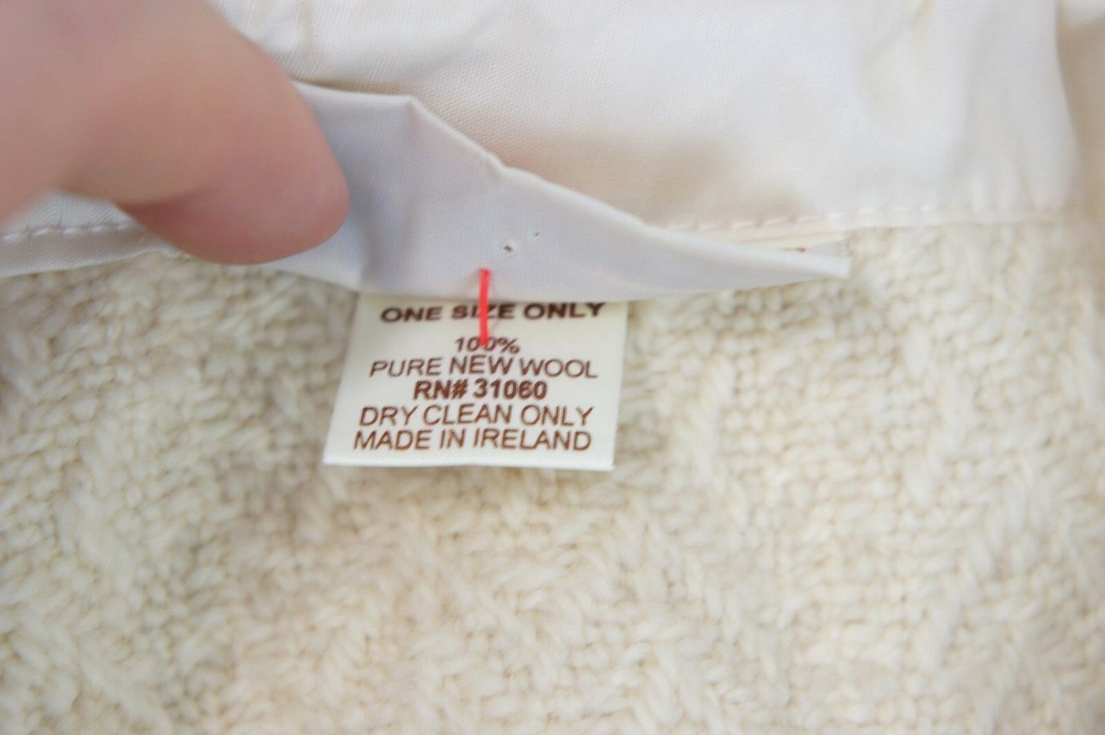 BOYNE VALLEY WEAVERS DESIGNER PONCHO CAPE CAPE CAPE REINE SCHURWOLLE One Größe Neuw. | Sale Outlet  | Wunderbar  | Umweltfreundlich  a44611