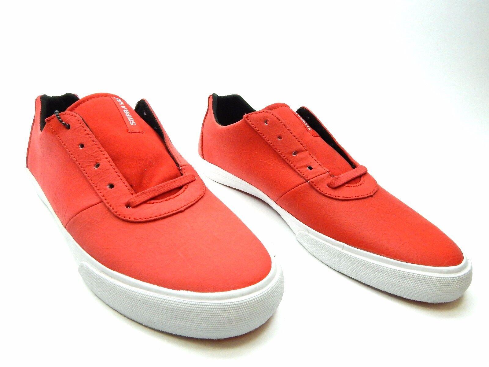 Supra chili cuttler basso chili Supra rosso uomini scarpe taglia 9, 10 & 11 b483f1