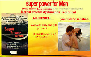 home remedy for instant erection