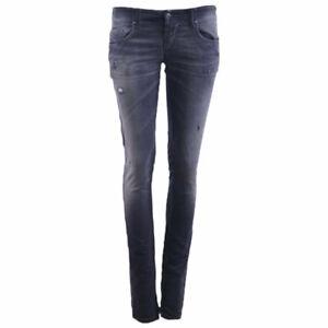 Diesel Grupee ne 0856s Damen Denim Sweat Jogg Jeans Slim Fit Distressed Pant