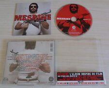 CD ALBUM INSPIRE DU FILM MESRINE RAP FRANCAIS ROHFF X-MEN OXMO PUCCINO 20 TITRES