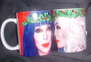 Cher-2018-Christmas-White-Mug-11oz-Brand-New