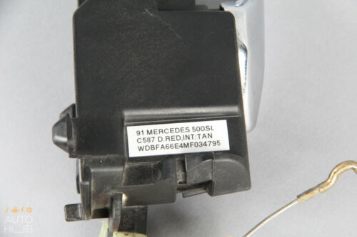 90-02 Mercedes R129 SL320 500SL 600SL Left Driver Side Interior Door Handle OEM