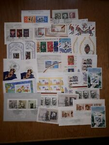 (P) West Germany, 30 mini-sheets used, see photo, Free UK P&P