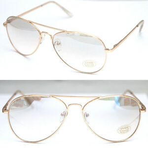 ce9b1ab5b3 Image is loading Aviator-Sunglasses-Spectacles-Glasses-Vintage-Classic- Fashion-Pilot-