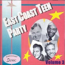 EAST COAST TEEN PARTY Volume 3 CD NEW 1950s rock 'n' roll rhythm & blues