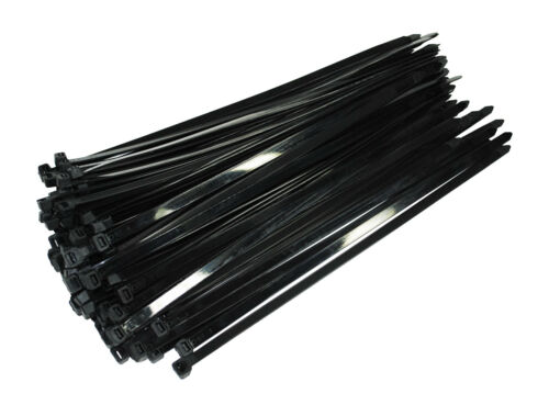 Kabelbinder UV Nylon Polyamid 6.6 Industriequalität schwarz 200 mm x 7,6 mm