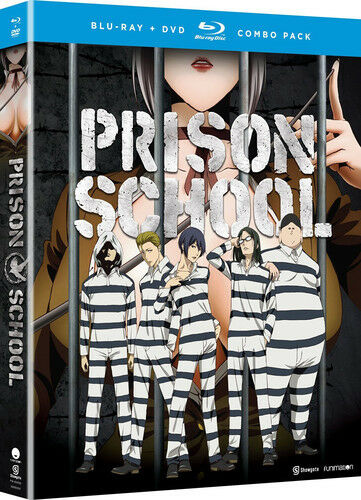 Prison School The Complete Series Blu Raydvd 2016 4 Disc Set
