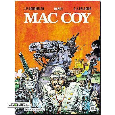 MAC COY 01 Gesamtausgabe brillantes Südstaaten Western-Klassiker COMIC ABENTEUER