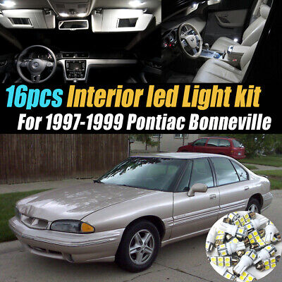16pc white car interior led light bulb kit for 1997 1999 pontiac bonneville ebay ebay