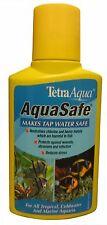 Tetra Aquasafe Acuario Peces Tanque Tratamiento Acondicionador Agua Grifo segura