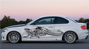Dragon Car Vinyl Side Graphics Decal Sticker Any Car 24 Ebay