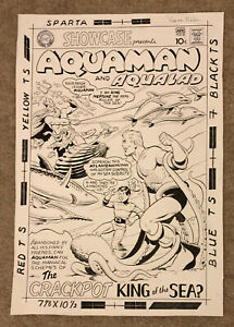 Ramona Fradon Original Aquaman Cover Commission