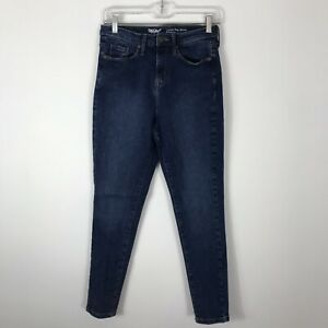 Mossimo Jeans Para Mujer Talla 4r 27 Energia Mas Alta Rise Skinny Stretch Azul Denim Ebay