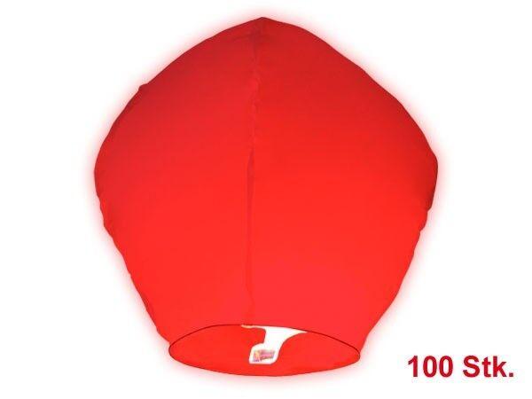 Set di 100 lanterne volanti rosse cinesi cielo rot rot rot festa notturno romantico 639335