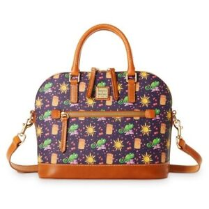 New Disney Dooney and Bourke Tangled Rapunzel Pascal Satchel NWT MSRP: $298.00