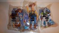Burger King Toy Story Disney Toys Lot Of 3