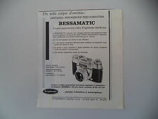 advertising Pubblicità 1960 VOIGTLANDER BESSAMATIC