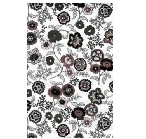 Klebefolie Möbelfolie Fleur grey Blumen 45 cm x 200 cm Dekorfolie selbstklebend