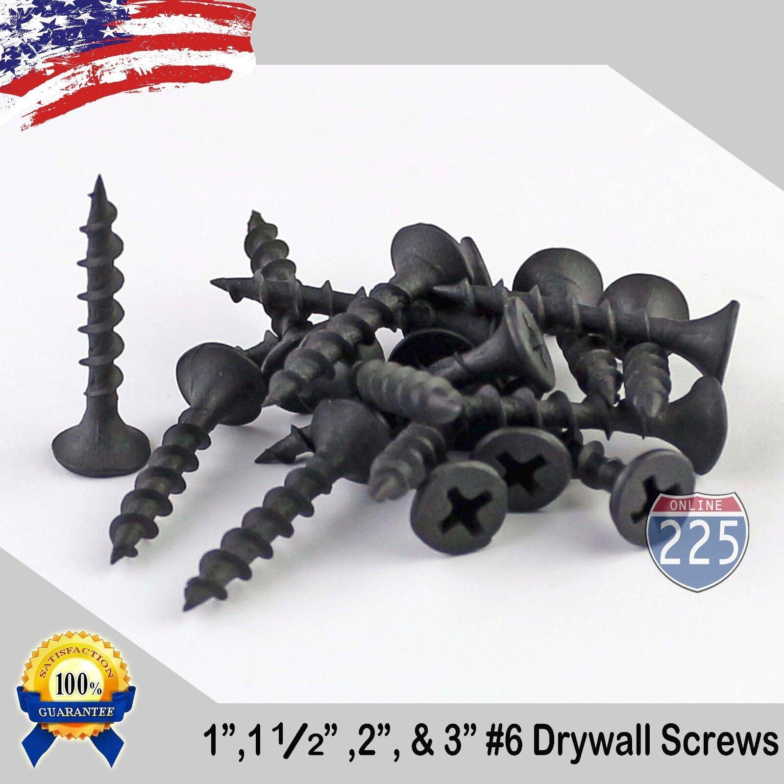 1000 #10 X 3-1//2 Drywall Screw Phillips Bugle Head Yellow Zinc Bulk Box