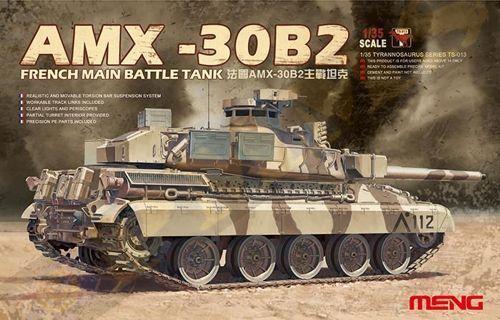 Meng 1 35 AMX-30B2 French Main Battle Tank TS-013