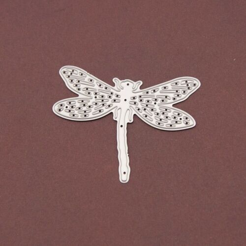 Dragonfly Metal Cutting Dies Stencils Scrapbooking Paper Crafts Embossing K6