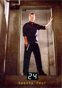 Details about 24 Seasons 1 and 2 Promo Card P1 Jack Bauer