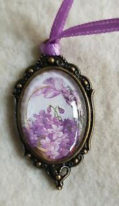 Amulet-Medallion-Approx-1-3-16in-Unique-Caring-Handarbeit-For-Bar-Or-Doll